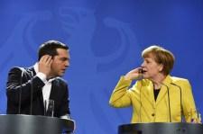 Kiabált egymással Merkel és Ciprasz