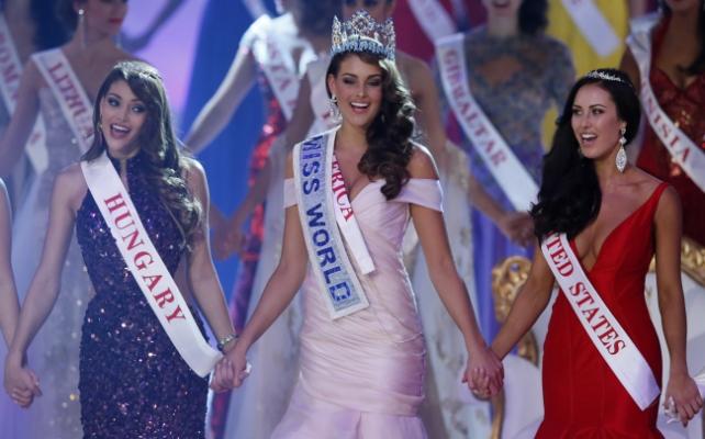 Második lett a magyar lány a Miss World 2014 versenyen