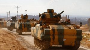 Török katonai offenzíva indult Szíriában (videó)