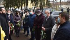 Csendes koszorúzást tartottak a magyar kultúra napján Beregszászban