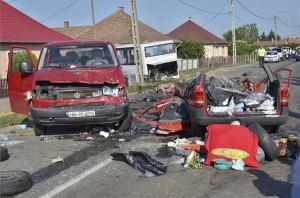 Öt román állampolgár halt meg egy magyarországi balesetben