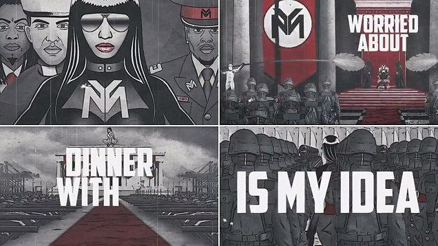 """A félnéger Nicki Minajt az új, """"neonáci"""" klipje miatt támadják (VIDEÓ)"""