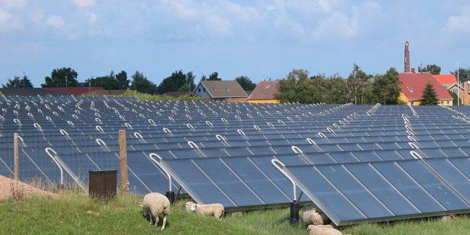 A világ legnagyobb napkollektor-farmját építik a szomszédban