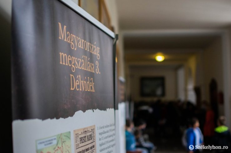 Székelyudvarhely: Rendhagyó történelemórák Trianonról