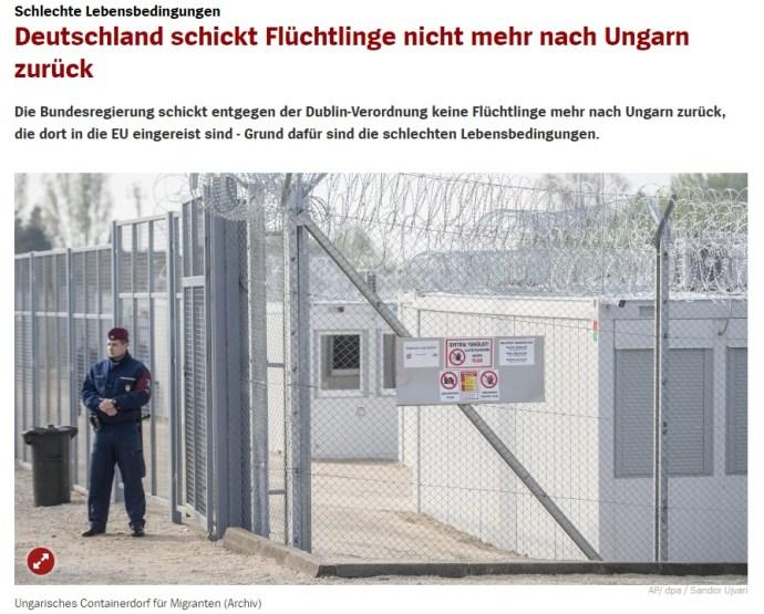 """Nem küldenek nekünk több """"menekültet"""" a németek, mert nem elég nagy itt a kényelem"""