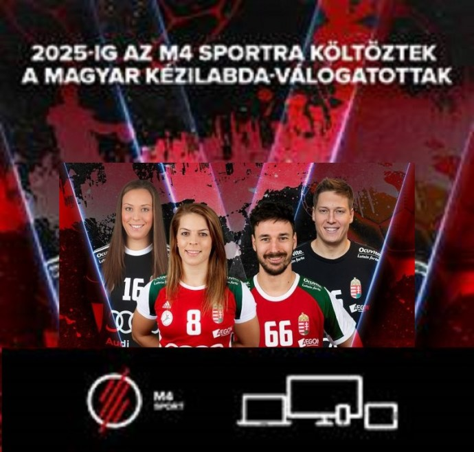 Az M4 Sportra költöztek a magyar kézilabda-válogatottak