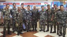 Kínai és szír katonatisztek találkoztak Oroszországban