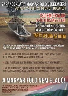 Gárdisták zarándoklata a magyar föld védelméért