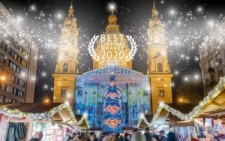 Európa legszebb karácsonyi vására a Szent István téri