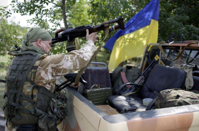 Órákon át aprította a tüzérség az ukránokat