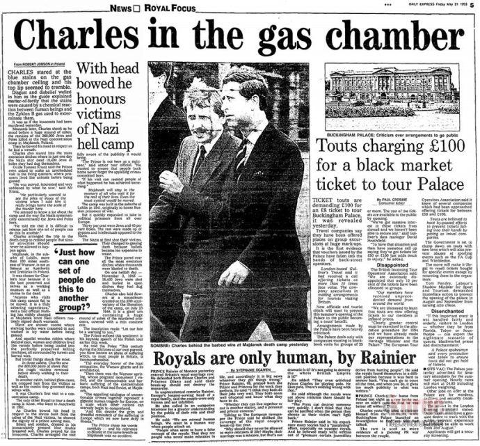 Károly herceget is becsapták a holokausztosok – és rajta kívül még hány millió embert?