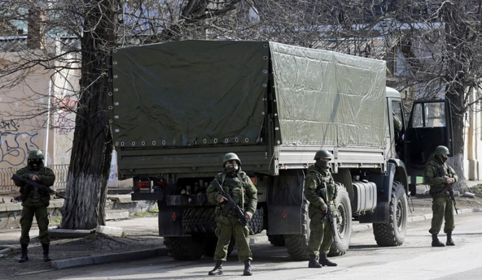 Ukrán Védelmi Minisztérium: a Krím-félszigeten orosz katonák fegyverezték le az ukrán rakétásokat