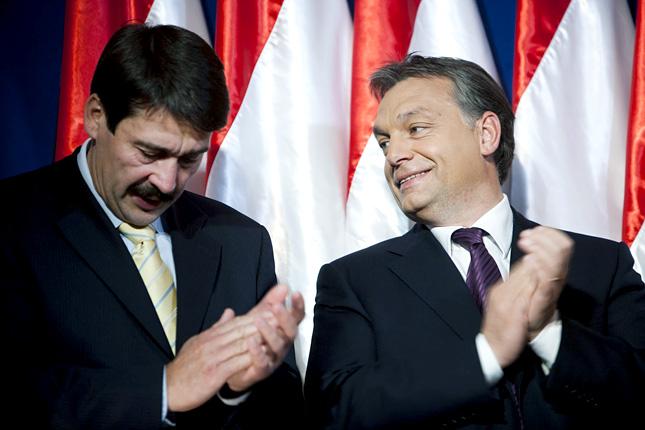 Orbán Viktor elbúcsúzhat Áder Jánostól
