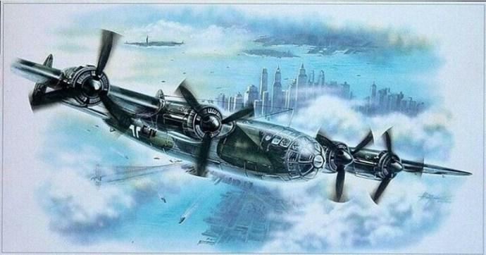 """Ha megvalósul, porba dönthette volna Manhattant a német """"Amerika-bombázó"""""""