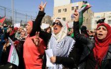 Több tízezer paleszitn és zsidó nő  vonult fel Izraelben a békéért