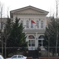 Tüntetés a Török Nagykövetség előtt