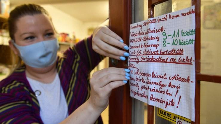 Kiderült, mennyire tartják be az üzletek a járványelőírásokat