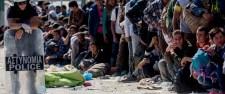 Fáradt, elcsigázott emberek – Európa határának mindkét oldalán