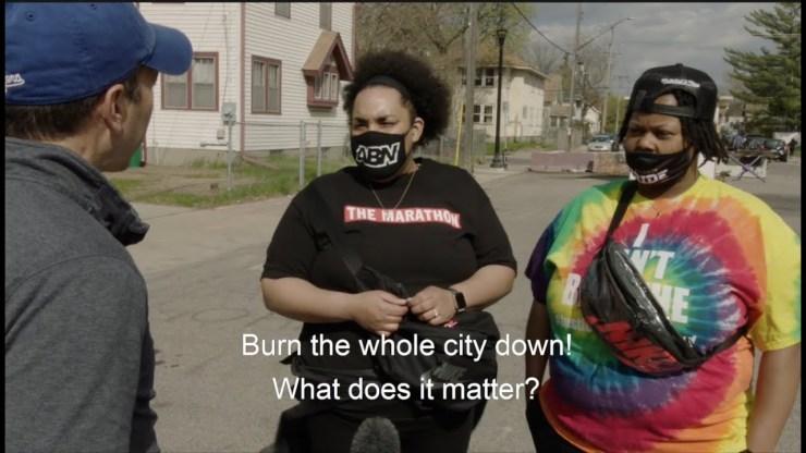 Minneapolis: az utcai interjúk során a négerek felfedték, hogy a fehérek megölését fontolgatják
