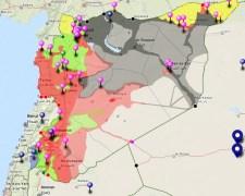 Így néz ki a darabokra hullott Szíria