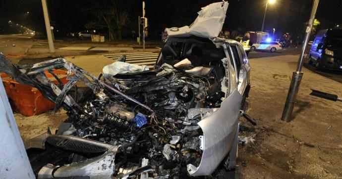 Brutális baleset történt Újpesten