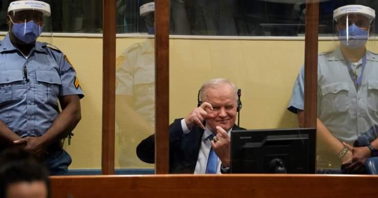 Jogerősen életfogytiglani börtönre ítélték Rátko Mládics szerb tábornokot