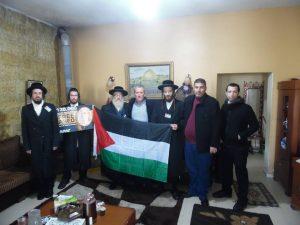 Anticionista zsidók látogattak el a fogvatartott palesztin lány falujába ( képek)