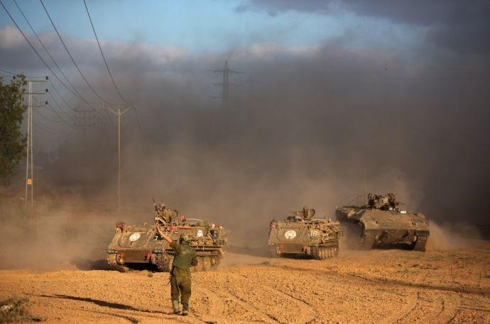 A föld alatt harcol az izraeli hadsereg a Hamásszal