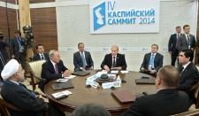 A Kaszpi-tengeri országok vezetői politikai nyilatkozatot tettek közzé