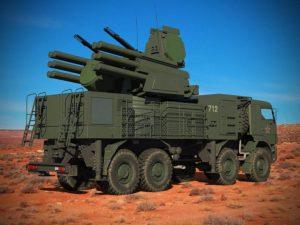 Oroszország negyven Pantsir S1 légvédelmi rendszert telepített Szíriába