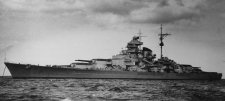 Alig vett részt a harcokban, mégis fontos szerepet játszott Hitler legfélelmetesebb csatahajója