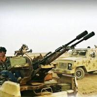 Offenzívába kezdett a Szíriai Arab Hadsereg az Iszlám Állam ellen