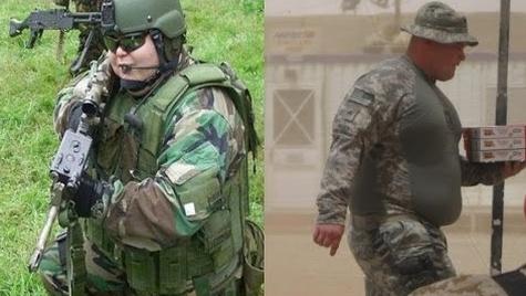 Hetvennyolcezer amerikai katona betegesen elhízott, egy részük bevetésre sem alkalmas