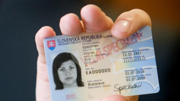 Jelenleg több mint 35 ezer lejárt szlovák személyi igazolvány van használatban