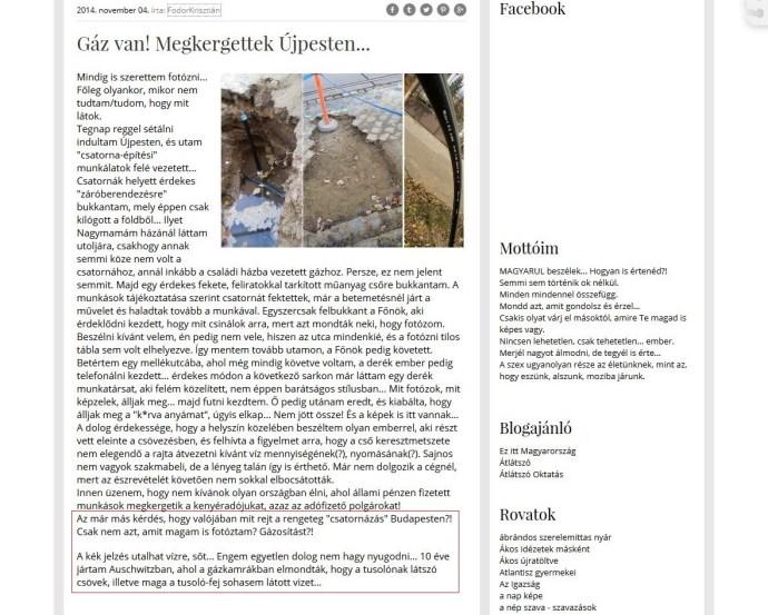 Auschwitz Budapesten, avagy ide vezet a vég nélküli holoagymosás