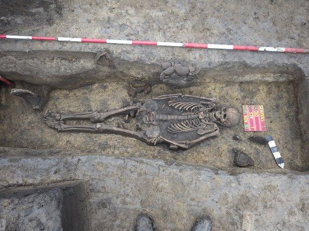 Amputált karú csontvázra bukkantak Szarvas határában