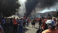 Kijevben lövöldöznek és robbantanak