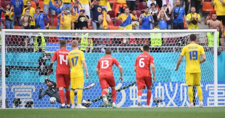Ukrajna–Észak-Macedónia: jó iramú meccs, két kihagyott tizenegyes