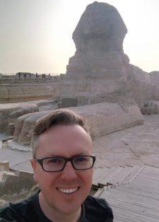 Mit néz az egyiptomi Nagy Szfinx?