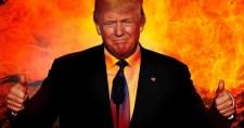 Ismét teljes pusztulással fenyegette meg Iránt az amerikai elnök