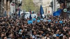 Az EU szervezte a budapesti kormányellenes tüntetéseket