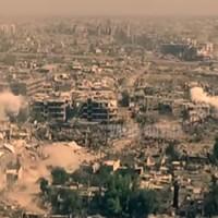 Damaszkuszi front madártávlatból
