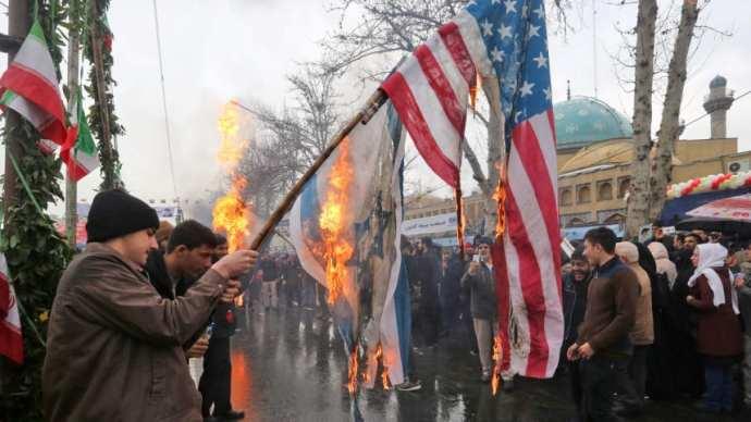 """""""Ha megtámadnak minket, a földdel tesszük egyenlővé Tel-Avivot és Haifát"""" – az iszlám forradalom 40. évfordulóját ünnepelték Iránban"""