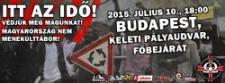 Itt az idő – Budapesti tüntetés a bevándorlás visszaszorításáért