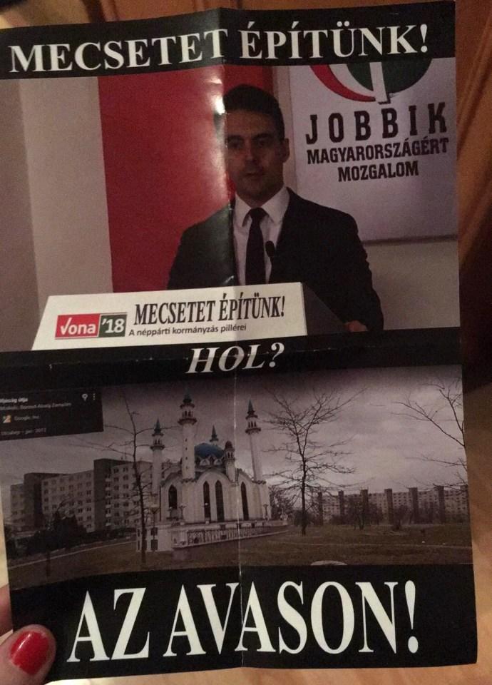 Jobbikos mecset az Avason – a Fidesz kampánya újabb intellektuális csúcsokat döntöget