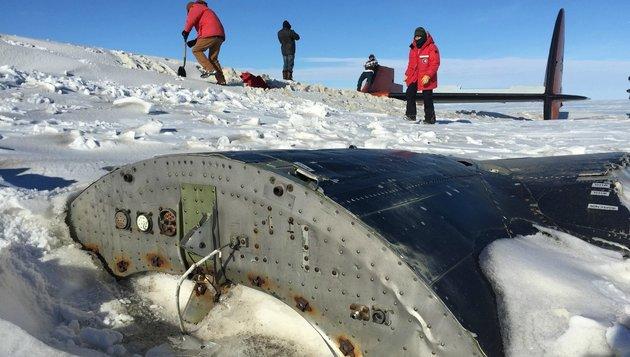 Máig turistalátványosság az Antarktisz jégmezőin fél évszázada lezuhant repülőgép