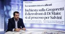 """Salvini él a lehetőséggel, bíróság elé akar állni: """"Contét és Di Maiót is viszem magammal"""""""
