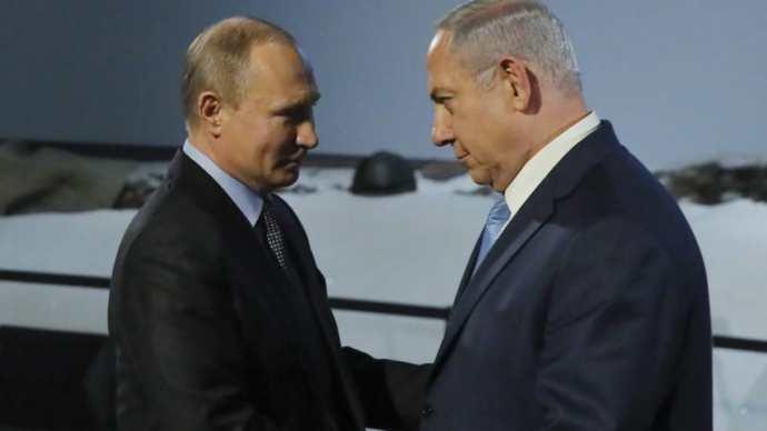 Putyin megmondta Netanjahunak, hogy állítsa le a Szíria elleni izraeli légitámadásokat