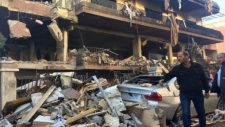 Polgári célpontot támadott Izrael Damaszkuszban