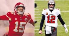 Patrick Mahomes címvédésre, Tom Brady tizedik Super Bowljára készülhet